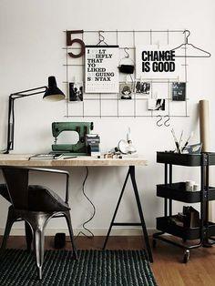 Come organizzare al meglio la scrivania - la minimale