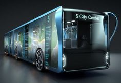 Willie Bus Concept Might Change City's Landscape In The Future By Edwin Kee on 12/12/2013