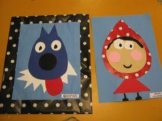 Cliquez pour fermer l'image et revenir à la page. Fairy Tale Theme, Fairy Tales, Fairy Tale Activities, Art For Kids, Crafts For Kids, Library Themes, 3rd Grade Writing, Traditional Tales, Three Little Pigs