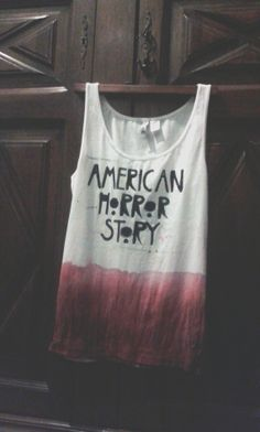 American Horror Story top MADE TO ORDER