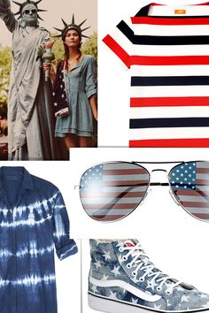 July 4th Fashion From Theory, Givenchy, Vans, MiH Jeans, and More