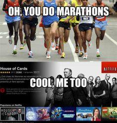 I Do Marathons Too