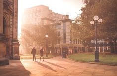 A beautiful Ross Jukes photo of St Philips and surrounds Birmingham UK.