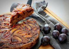 Fordított szilvás pite Meat, Food, Essen, Yemek, Meals