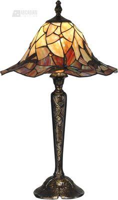 689e493e7cbe Dale Tiffany Tiffany Dragonfly Table Lamp Bronze And Art Glass Shade