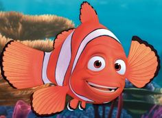 Marlin from Finding Nemo:  he's courageous, persistent and unselfish
