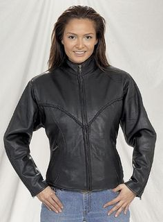 Arrow Womens Leather jacket – uiuouod