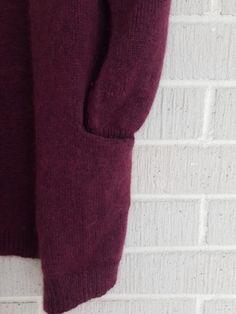 Ilman erikoisominaisuuksia oleva neuletakki – Nurjia silmukoita Men Sweater, Sweaters, Fashion, Moda, Fashion Styles, Men's Knits, Sweater, Fashion Illustrations, Sweatshirts