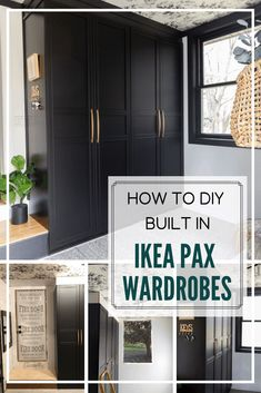 DIY Built In Ikea Pax Wardrobes - -You can find Wardrobes and more on our website.DIY Built In Ikea Pax Wardrobes - - Ikea Wardrobe Hack, Ikea Pax Hack, Ikea Pax Closet, Diy Wardrobe, Build In Wardrobe, Wardrobe Design, Ikea Hacks, Ikea Bedroom, Closet Bedroom