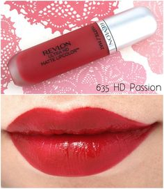 """The Happy Sloths: Revlon Ultra HD Matte Lipcolor in """"Passion"""", """"Seduction"""" & """"Temptation"""": Review and Swatches #passion #sexy #followback"""