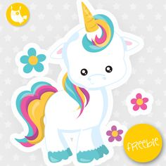 Unicorn Freebie, free clipart, freebie, commercial use, educational, free images, free