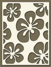 lots of stencil ideas Stencil Templates, Stencil Patterns, Stencil Diy, Stencil Painting, Stencil Designs, Fabric Painting, Kirigami, Flora Und Fauna, Quilting Stencils