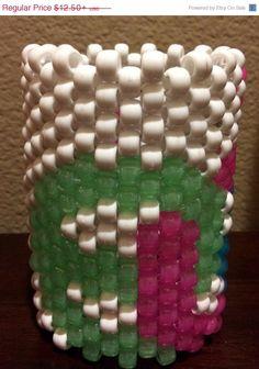 ON SALE EDC Kandi Cuff by KandilandUSA on Etsy, $10.63