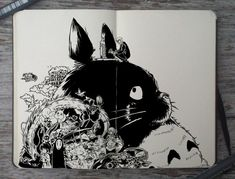 Totoro Drawing By Picolo-Kun