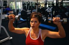 Lifting weights can help keep you healthy.