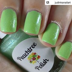 One bottle left!  The person who buys it gets a FREE 8ml tube of Peach Orange Spritz cuticle oil!  #Repost @judinkanailart ・・・ One coat of Ivy Star over two coats of Fresh Fields from Peachtree Polish @peachtree_polish Love it soooo much...just a perfect combo. • • • •  Summer Brites 😎☀️👙⛱ ~ Available now!! Shop our store for 🔸Peachtree Polish 🔸Water Decals - New! 🔸Dotting Tools 🔸Blue Goo 🔸Glitter Dots - New! 🔸Rhinestones 🔸Striping Tape 🔸Cuticle Oil  Please hashtag #PeachtreePolish…