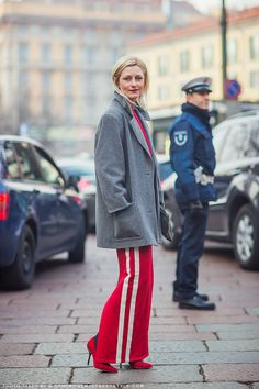 How to Wear Track Pants like a Street Style Star | StyleCaster