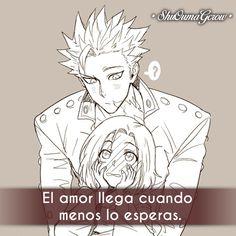 El amor llega #ShuOumaGcrow #Anime #Frases_anime #frases