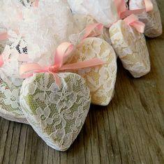 Wedding Favour / Heart Soap Favor / Wedding Shower Favors as seen in Wedding Chicks Blog / Rustic Wedding Favor / Qty 100 on Etsy, $175.00