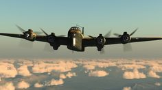Short Stirling Bomber.
