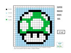 Miniatyrbilde av et Disk-element Mario Crochet, Graph Crochet, Crochet Baby, Mario Bros., Mario And Luigi, Mario Brothers, C2c, Cute Cross Stitch, New Hobbies