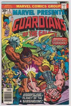 Marvel Presents Guardians of the Galaxy #9 8.0 VF