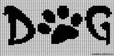 New embroidery dog patterns punto croce ideas Cross Stitch Charts, Cross Stitch Designs, Cross Stitch Patterns, Loom Patterns, Beading Patterns, Embroidery Patterns, Crochet Chart, Filet Crochet, Cross Stitching