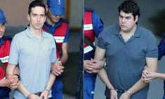 EΛΛΗΝΙΚΗ ΔΡΑΣΗ: Ελεύθεροι οι δύο Έλληνες στρατιωτικοί που κρατούντ... Kai, Button Down Shirt, Men Casual, Polo, Mens Tops, Shirts, Fashion, Moda, Dress Shirt