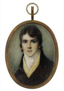Samuel Shelley (British, Signed on the reverse Sam Shelley/ No St. Jane Austen, Renaissance, Miniature Portraits, Regency Era, Gentleman, Images, Fine Art, Antiques, Artwork