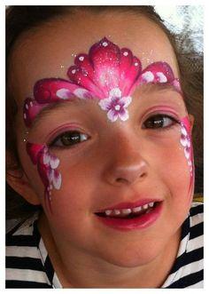 #facepaint princess tiara crown face painting ideas for kids