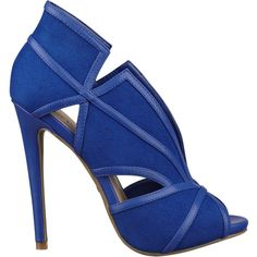 Nine West Moneymaker Peep Toe Pumps Royal Blue High Heels, Black High Heel Pumps, Blue Heels, Pumps Heels, Stiletto Heels, Black Shoes, I Love My Shoes, Pretty Shoes, Me Too Shoes
