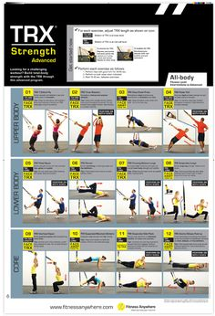 TRX Advanced AWESOME workout !   OMG! Did this once last week, every muscle in my back and arms were sore for days!