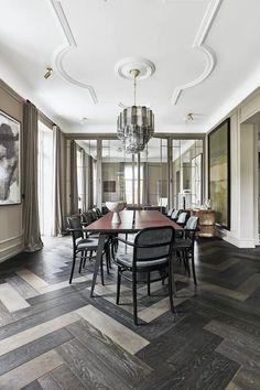 cora_025 Dining Room Chairs, Dining Table, Gio Ponti, Interior Decorating, Interior Design, Classic Interior, Nordic Style, House Rooms, Architecture Design