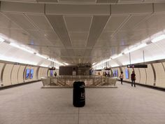 The new 34th Street-Hudson Yards Station on the No. 7 Line
