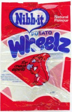 Nibb-it Wheelz 1986 style! 70s Sweets, Retro Sweets, Retro Food, Crisps Brands, Snack Recipes, Snacks, Retro Recipes, Kids Tv, Natural Flavors