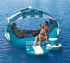 Chill on the Water with the Cabana Islander Lounge #design