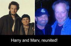 The Wet Bandits reunited! #homealone