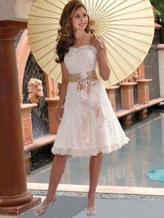 very pretty white dress