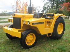 John Deere 840 industrial tractor