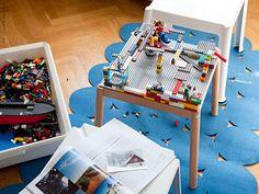 IKEA PS 2012 | IKEA Livet Hemma – inspirerande inredning för hemmet Ikea Ps 2012, Ikea Inspiration, Toddler Bed, Lego, Bord Ikea, Chair, Furniture, Play, Home Decor