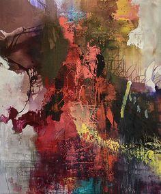"Thompson Landry Gallery - Jean-Pierre Lafrance, Verchères Mixed media on canvas 72"" x 60"""