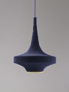 [CRAFT+DESIGN] GREAT IDEA: Crochet over a nicely shaped old light fitting. Inspired by GLÜCK, one of the pendants in the new OMI pendant collection. By Naomi Paul