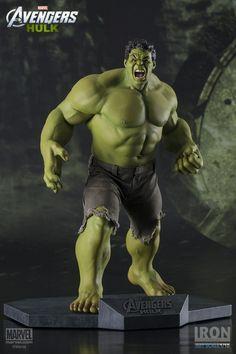[IRON STUDIOS] Os Vingadores: Estátua do personagem Hulk