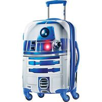 American Tourister Star Wars All Ages 21 Carry-On Spinner R2D2 - American Tourister Hardside Luggage