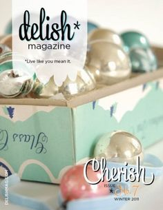 I don't even know which board to pin this to. Delish is a free online magazine with craft, household, child, travel, creative, artistic, everything ideas. It pretty much rocks.