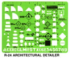 architectural drafting template : symbols!