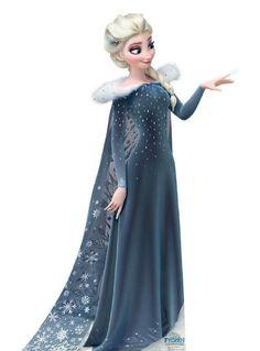 Elsa in Olaf's frozen adventure! ❄️☃️
