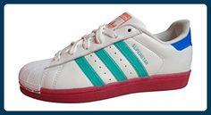 adidas Adidas Superstar W, Damen Sneaker Low-Tops , - white pink BB4307 -  Größe  38 EU - Sneakers für frauen ( Partner-Link) 49559d49cb