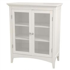 $119 Elegant Home Fashions Madison Avenue Double Floor Cabinet