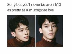 Lol exo funny joke it's true Exo Ot12, Chanbaek, Kpop Exo, Exo K, Exo Memes, Funny Memes, Shinee, K Pop, 5 Years With Exo